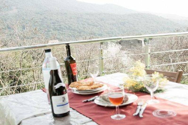 Location de vacances - Maison - Villa à Grosseto-Prugna - vue