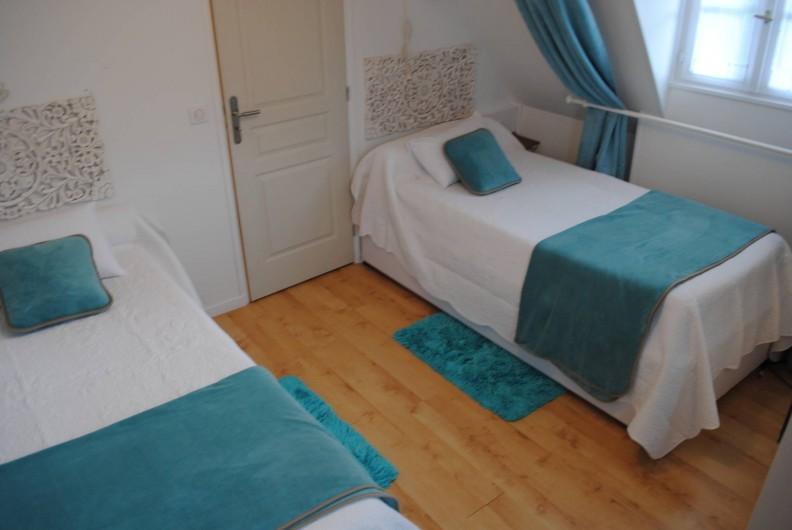 Location de vacances - Chambre d'hôtes à Le Plessis-Grohan - Suite Ô SOLEIL LEVANT  chambre 2