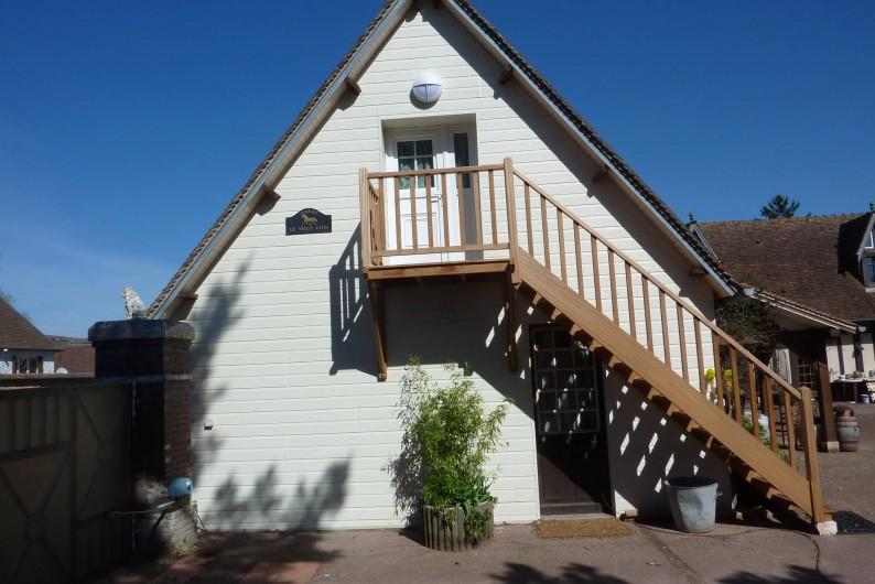 Location de vacances - Chambre d'hôtes à Le Plessis-Grohan - Suite Ô CLAIR DE LA LUNE entrée