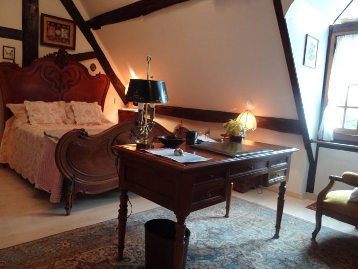 Location de vacances - Chambre d'hôtes à Le Plessis-Grohan - Suite Ô CLAIR DE LA LUNE Grande chambre