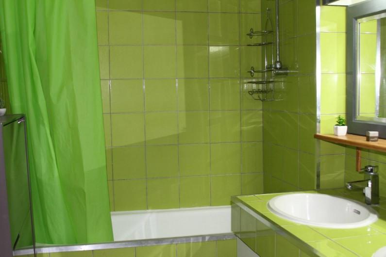 Location de vacances - Studio à Le Moule - Une douche ou un bain, c'est possible...