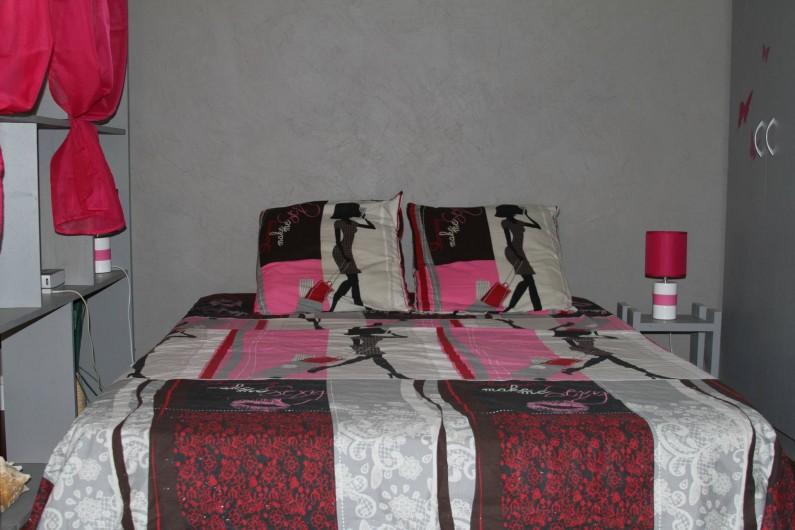Location de vacances - Studio à Le Moule - Un lit double vous  accueillera pour un vos repos.