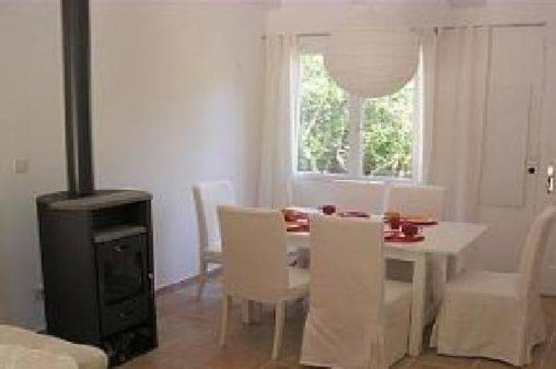 Location de vacances - Villa à Porto-Vecchio - table àmanger