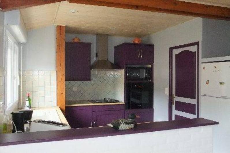 Location de vacances - Villa à Lacanau - cuisine ouverte