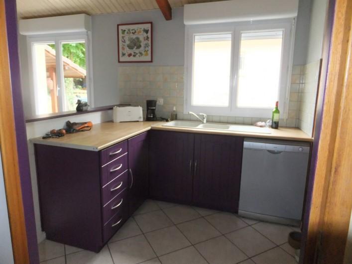 Location de vacances - Villa à Lacanau - cuisine