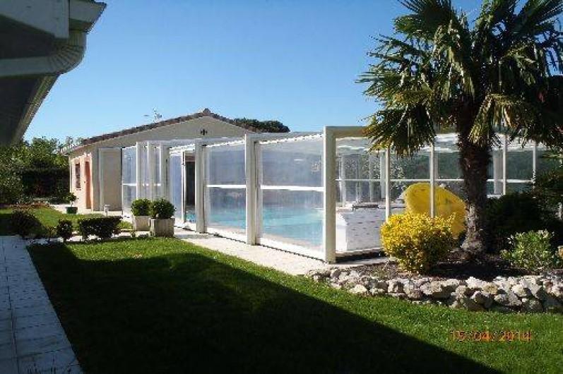 Location de vacances - Villa à Muret - Piscine couverte (découvrable par télécommande)