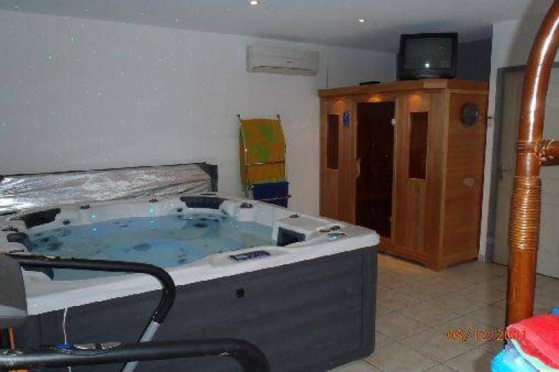 Location de vacances - Villa à Muret - Jacuzzi et sauna