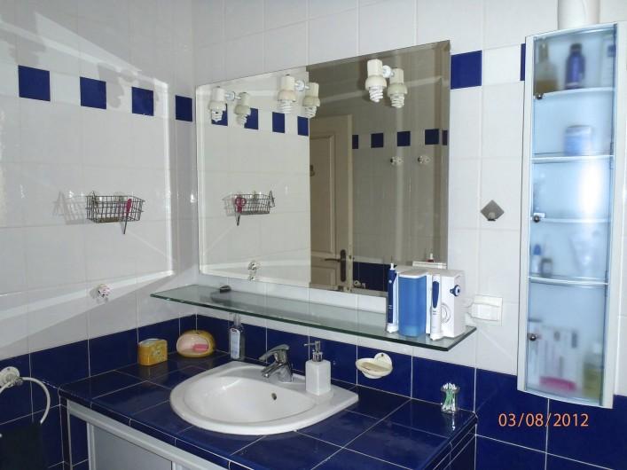 Location de vacances - Villa à Muret - Salle de bains