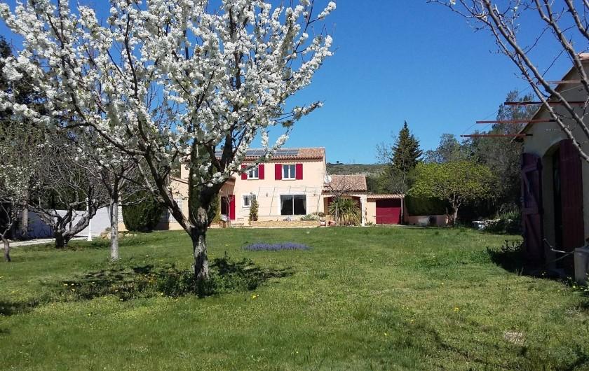Location de vacances - Villa à Pélissanne - 4000 M2 sans aucun vis à vis