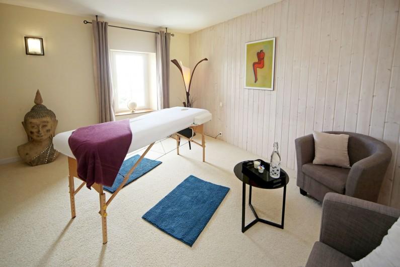Location de vacances - Gîte à Labastide-de-Lévis - Salon de Massage