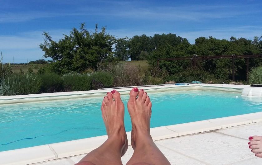 Location de vacances - Gîte à Labastide-de-Lévis - Relax