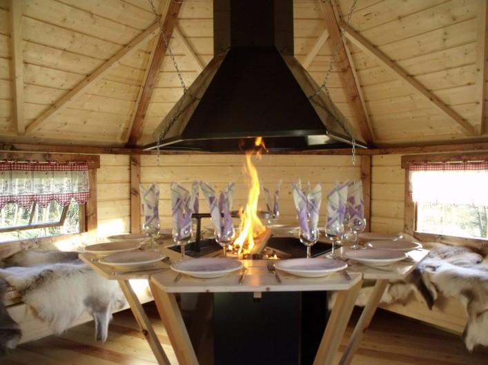 Location de vacances - Gîte à Ferdrupt - kota Grill