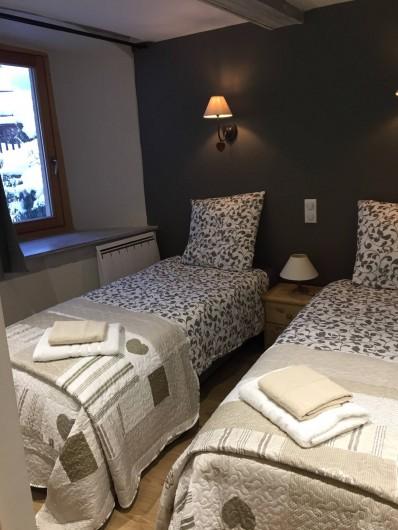 Location de vacances - Appartement à Sainte-Foy-Tarentaise - Chambre N° 2