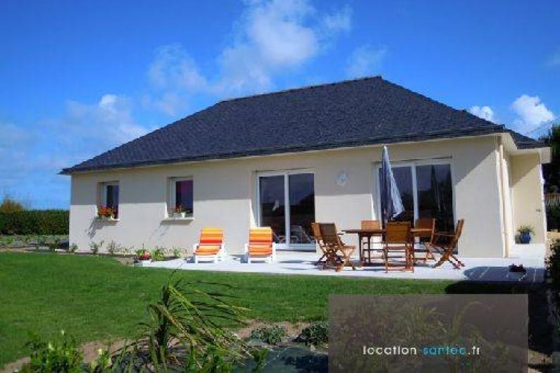 Maison neuve de plain-pied à 150 M de la plage, face à l\'ile de Batz ...