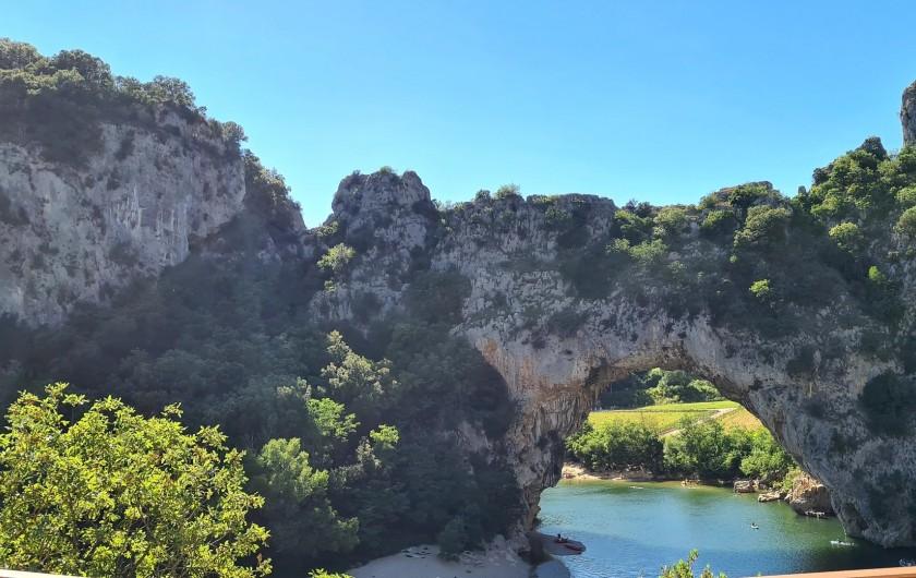 Location de vacances - Appartement à Saint-Montan - Pont D'arc- Vallon