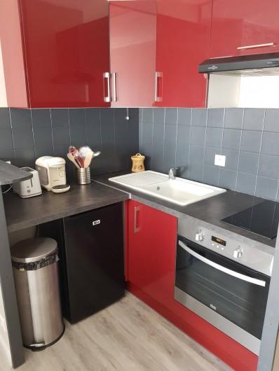 Location de vacances - Appartement à Blonville-sur-Mer - Cuisine équipée