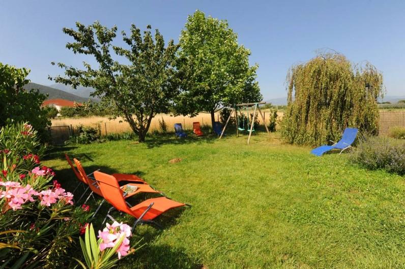 Location de vacances - Gîte à Rigarda - l'espace détente