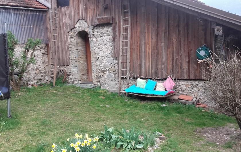 Location de vacances - Chambre d'hôtes à Montailleur