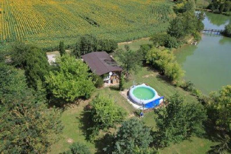 Location de vacances - Bungalow - Mobilhome à Montignac-de-Lauzun