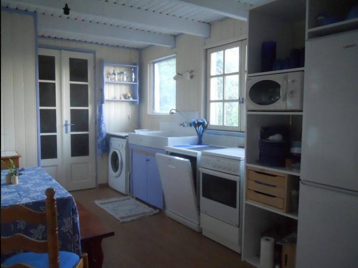 Location de vacances - Maison - Villa à Nice - Une vraie cuisine