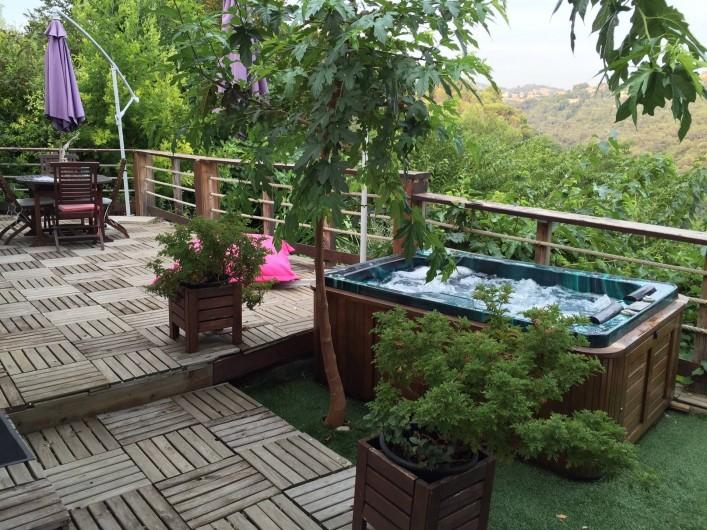 Location de vacances - Maison - Villa à Nice - Profitez d'un jacuzzi toutes options