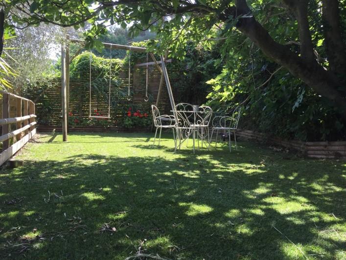 Location de vacances - Maison - Villa à Nice - Jardin pour les enfants