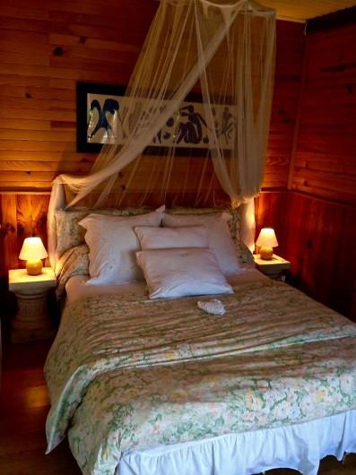 Location de vacances - Maison - Villa à Nice - La chambre parentale romantique