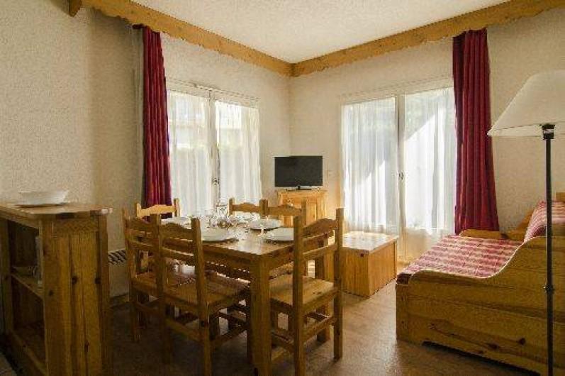 Location de vacances - Appartement à Saint-Gervais-les-Bains - Pièce à vivre 3 pièces 6 personnes