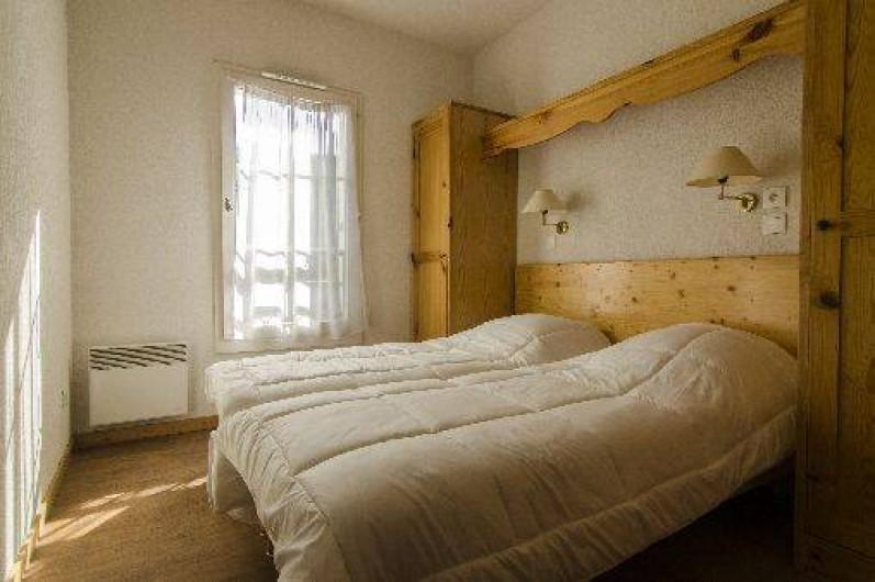Location de vacances - Appartement à Saint-Gervais-les-Bains - Chambre 2 lits simples
