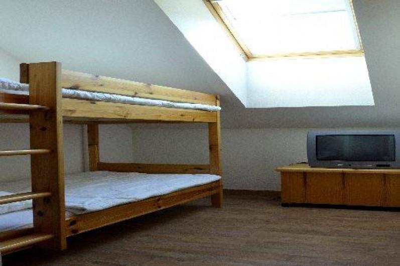 Location de vacances - Appartement à Saint-Gervais-les-Bains - Chambre 2 lits superposés