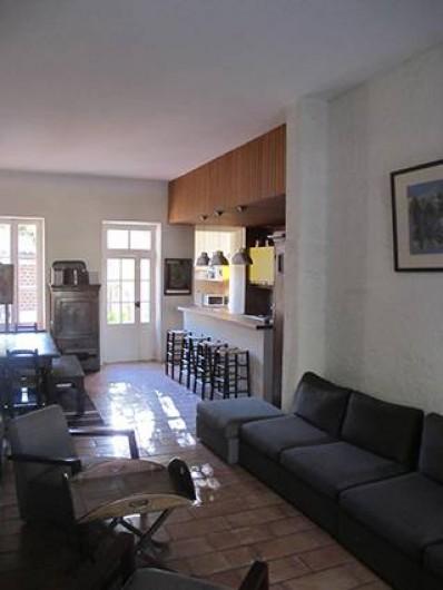 Location de vacances - Villa à Hyères - SALON /SALLE À MANGER