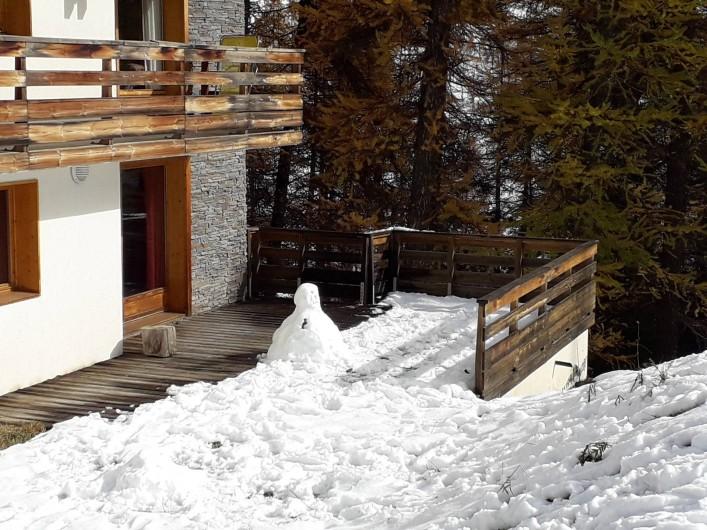 Location de vacances - Appartement à Les Claux