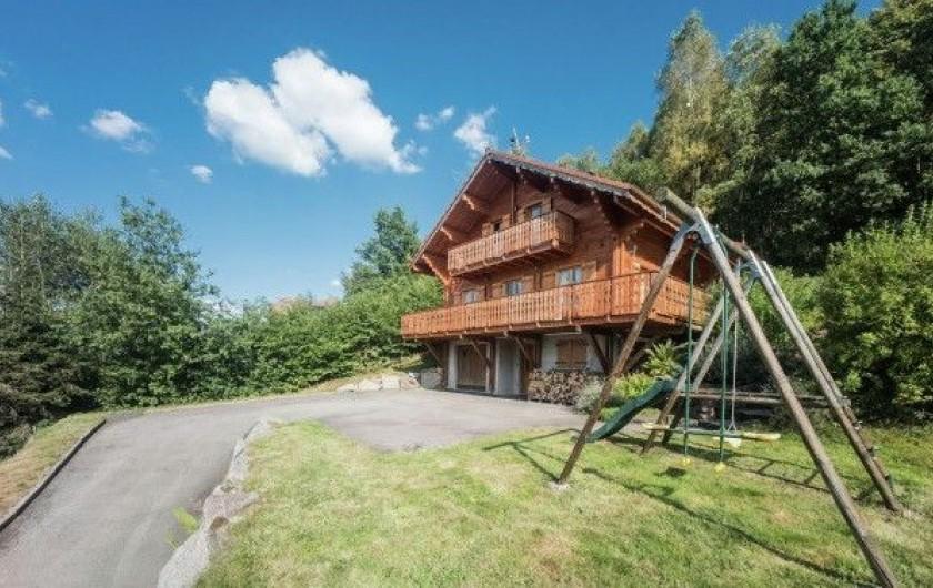 Location de vacances - Chalet à Anould - chalet de la Roche