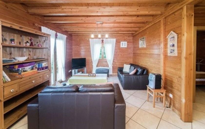 Location de vacances - Chalet à Anould - salon