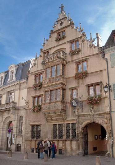 Location de vacances - Appartement à Colmar - La maison des Têtes
