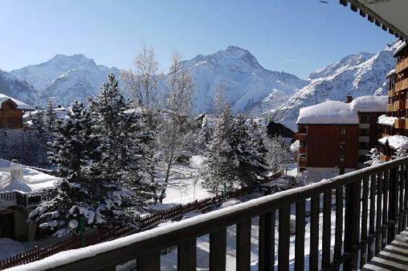 Location de vacances - Appartement à Les Deux Alpes - vue sur la Muzelle