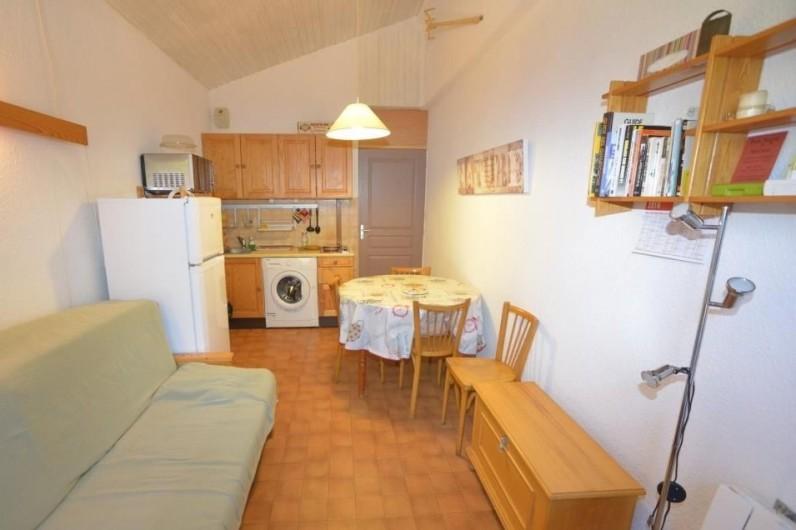 Location de vacances - Appartement à Ax-Bonascre (le Saquet) - La partie séjour de l'appartement