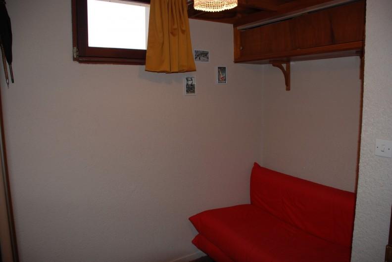 Location de vacances - Appartement à Ax-Bonascre (le Saquet) - La cabine et son canapé lit