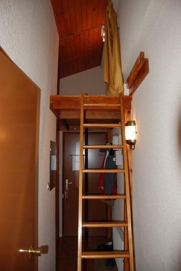 Location de vacances - Appartement à Ax-Bonascre (le Saquet) - L'accès à la mezzanine