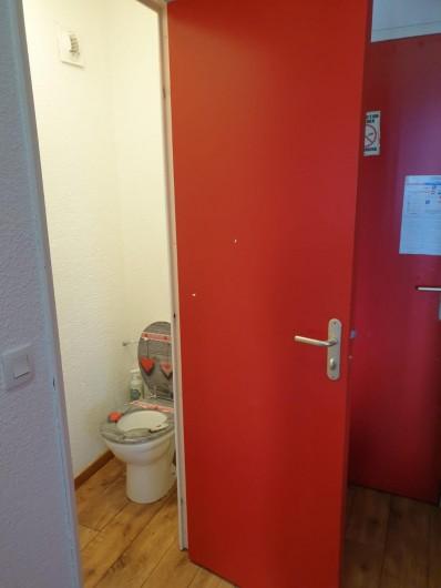 Location de vacances - Appartement à Valmeinier 1800 - toilettes