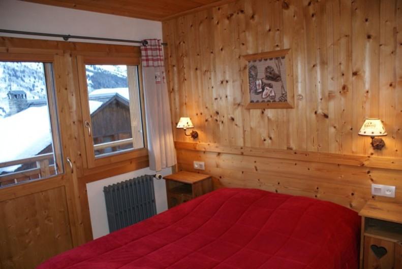 Location de vacances - Appartement à Méribel - Fougères 1 - Chambre lit double