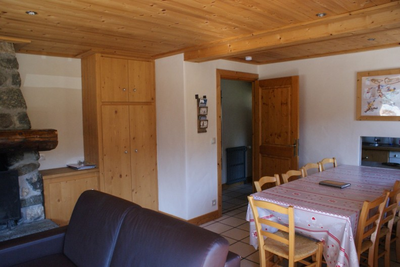 Location de vacances - Appartement à Méribel - Fougères 1 - Séjour