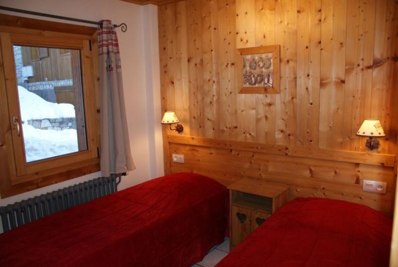 Location de vacances - Appartement à Méribel - Fougères 1 - Chambre 2 lits simples