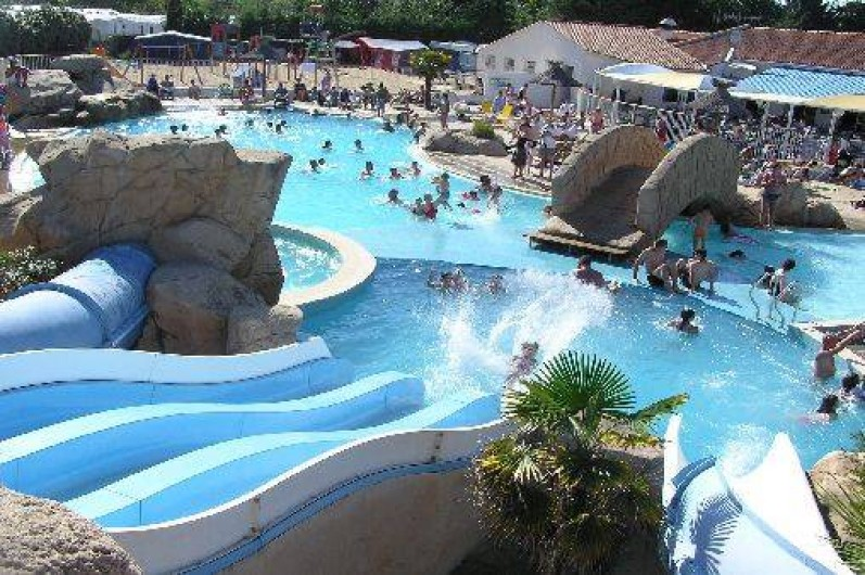 Location de vacances - Camping à Saint-Jean-de-Monts - Piscine camping St jean de Monts