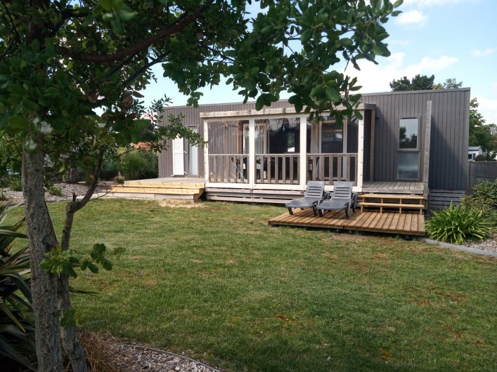 Location de vacances - Camping à Saint-Jean-de-Monts - Mobil-home Luxe St Jean de Monts