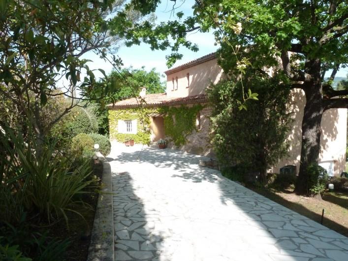 Location de vacances - Villa à Peymeinade - ACCUEIL VILLA