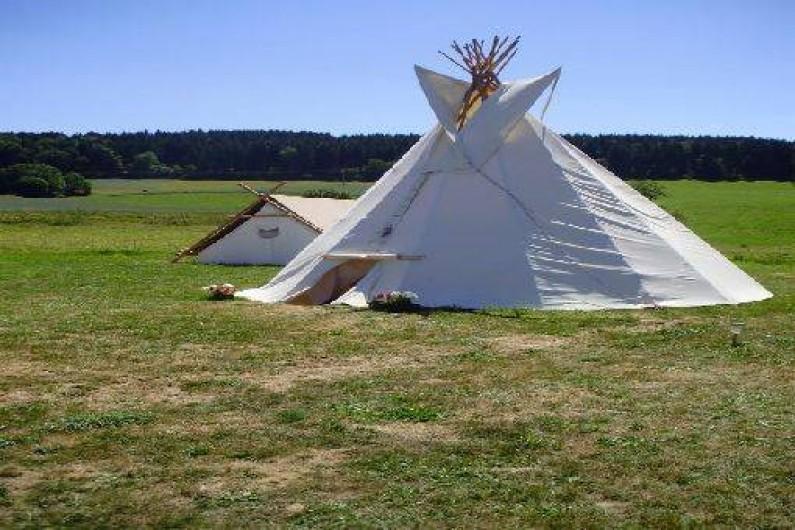 Location de vacances - Tipi à Saint-Nizier-du-Moucherotte