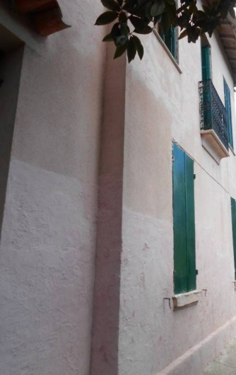 Location de vacances - Gîte à Vidauban - façade maison entrée n°1