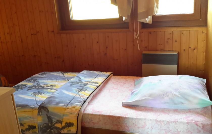 Location de vacances - Chalet à Taninges - MONT-CALY N°2 Chambre - lit simple