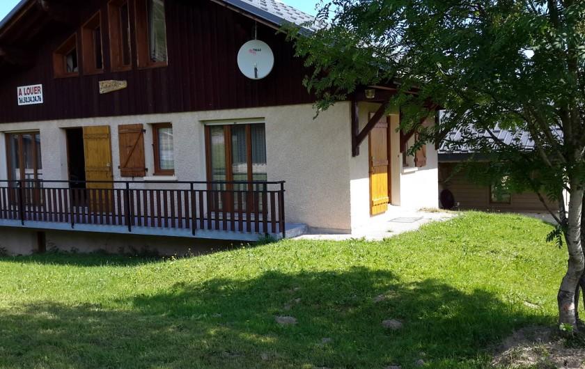 Location de vacances - Chalet à Taninges - LE MONT-CALY été
